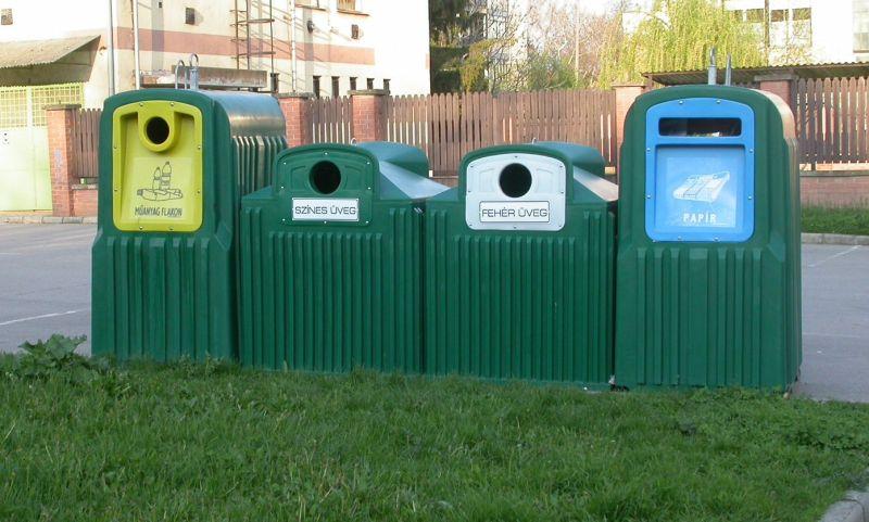 Szelektív hulladékgyűjtéssel az élhetőbb környezetért