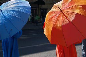 Változatos női esernyők