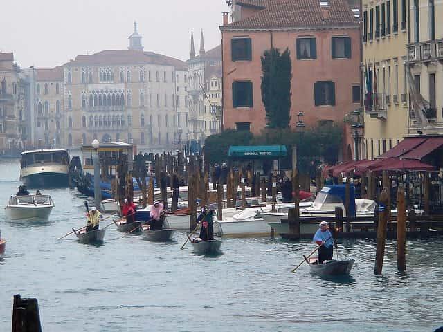 Velence egyik legjellegzetesebb ünnepe, a Regatta